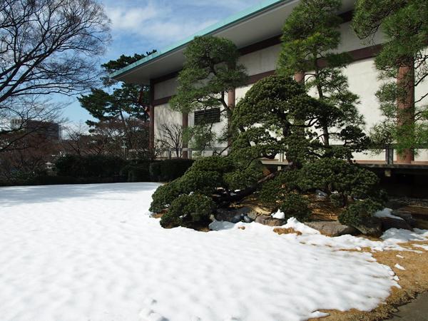 五島美術館 雪